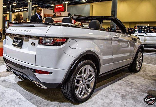 O novo Range Rover Evoque Conversível ! #EvoqueConvertible #RangeRover #Evoque #MiamiAutoShow