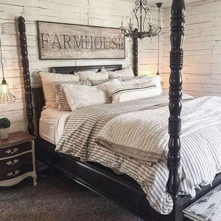 40 INCREDIBLE MODERN FARMHOUSE BEDROOM DECOR IDEAS