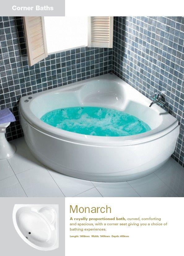 in home corner whirlpool bath green cleaning bathroom corner bathtub ...
