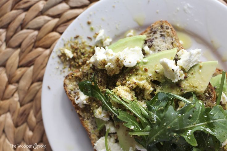 The Wooden Spoons Avocado Toast with Dukkah and Persian Feta » The Wooden Spoons