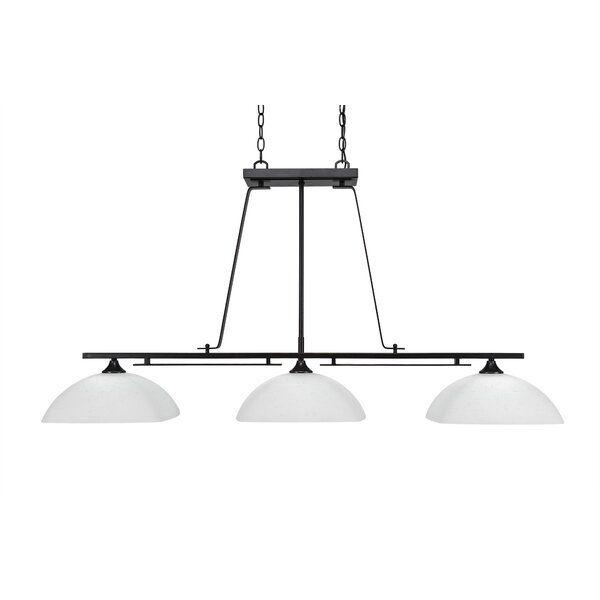 Mindi 3 Light Kitchen Island Linear Pendant Billiard Lights Filament Design Cool Floor Lamps