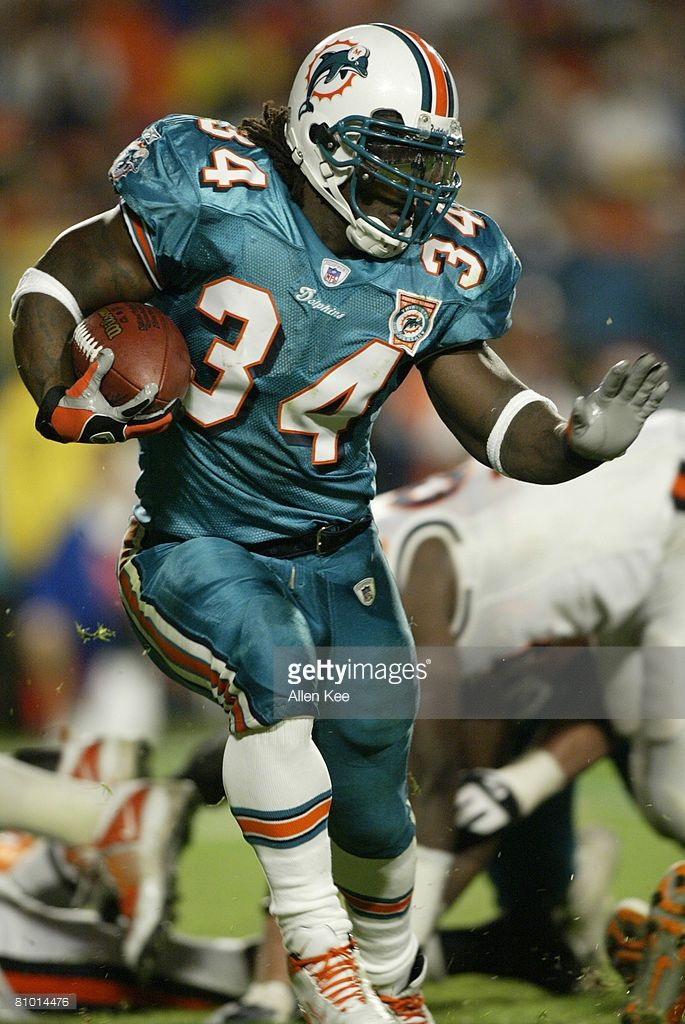 Miami Dolphins RB Ricky Williams