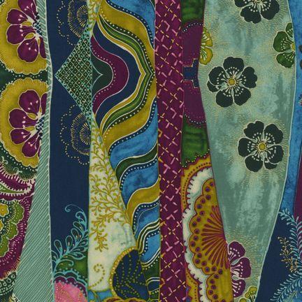 Robert Kaufman Fabrics: EUJM-6495-201 JEWEL from Bohemian Rhapsody