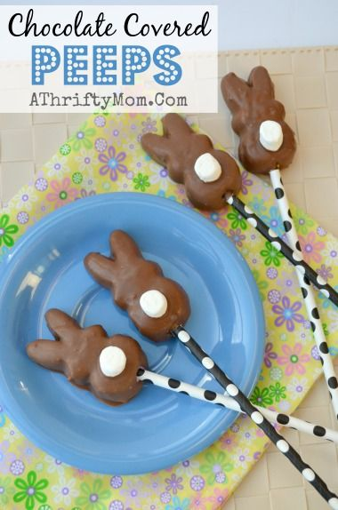 3404 best easter freebies4mom boards images on pinterest chocolate covered peeps quick and easy easter treat peeps negle Gallery