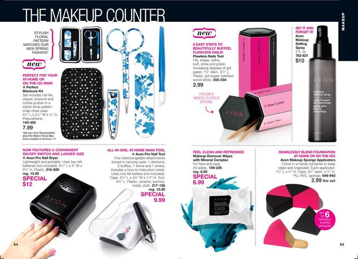 Try out these products from Avon! Great for your makeup/beauty kit youravon.com/deniselindsay