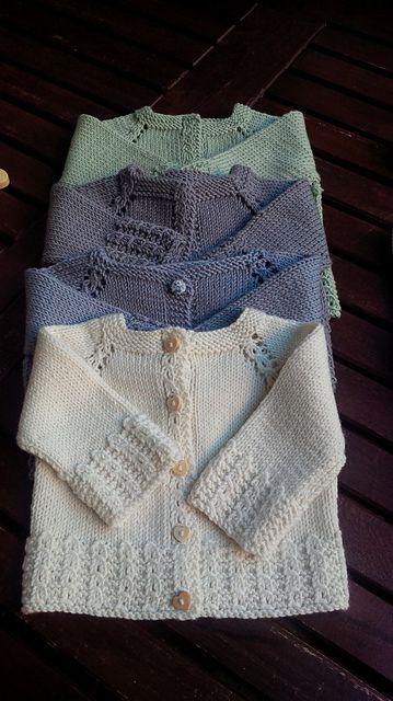 Trippi cardigan pattern by Barbara Ajroldi