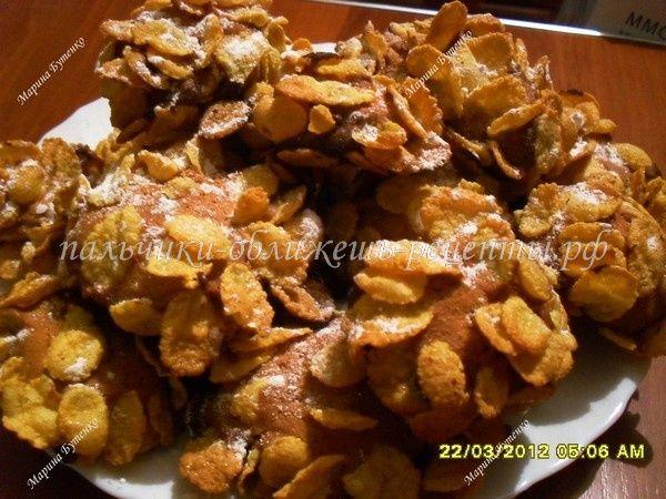 Итальянское печенье с кукурузными хлопьями