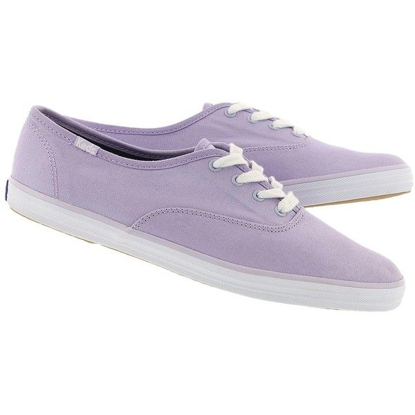 Women's CHAMPION lavender canvas sneakers (51 CAD) ❤ liked on Polyvore featuring shoes, sneakers, plimsoll sneakers, lavender shoes, canvas sneakers, champion shoes and plimsoll shoes