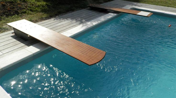 Wooden Diving Board Luxury Pools Builders & Designers | Luxury Pools