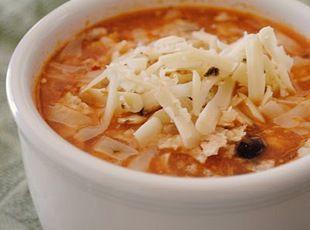 Chicken Enchilada Soup - turned out fantastic!