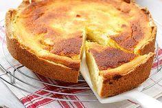 Maak jouw appeltaart extra fris door 'm te bakken met citroenkwark. Heerlijk op een zomerse dag of als toetje.