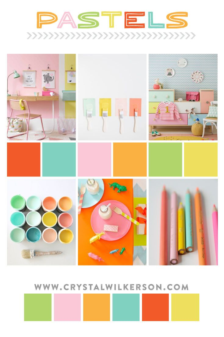 Bedroom Inspiration Pastel