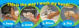 Lavarse las manos protege de enfermedades infecto-contagiosas.