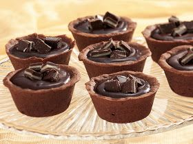 My Favorite Things: Mint Truffle Cups