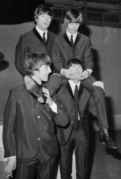 Ringo: Now you look like me Paul!