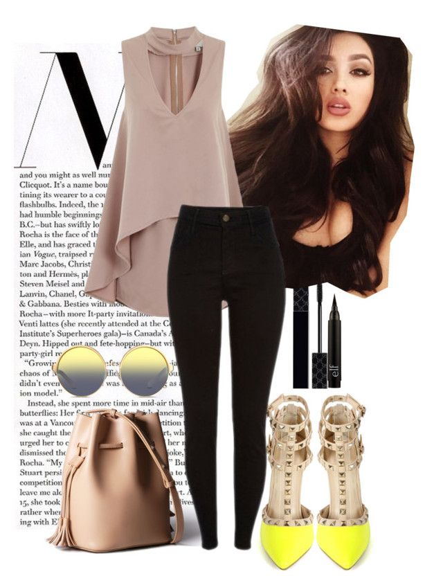 """""""Untitled No. 397"""" by catherine-megan-jones on Polyvore featuring Gucci and Matthew Williamson"""