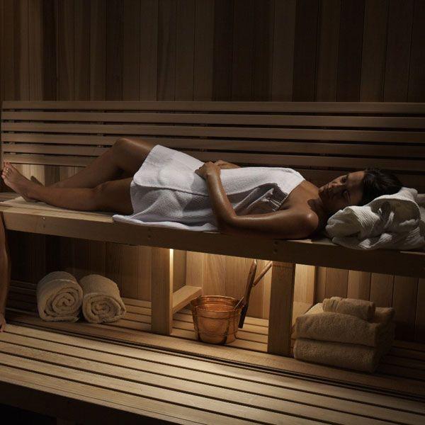 Serenity Springs sauna @Chukchansi Gold Resort & Casino