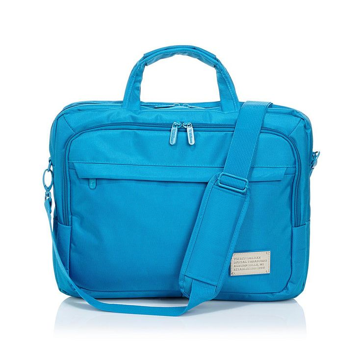 "ToteIt! Deluxe 15"" Laptop Case - Blue"