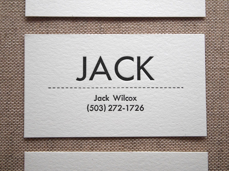 9 best Business Card Design Ideas images on Pinterest Business - letterpress business card