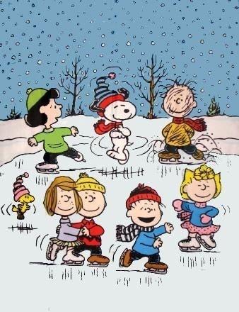 Snoopy Skating!