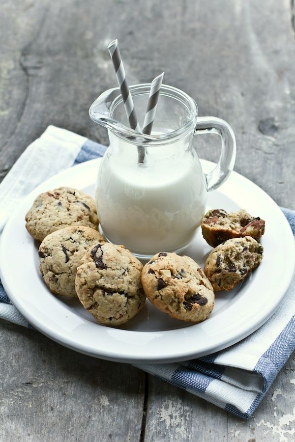 Biscotti di grano saraceno e cioccolato (Use google translate )