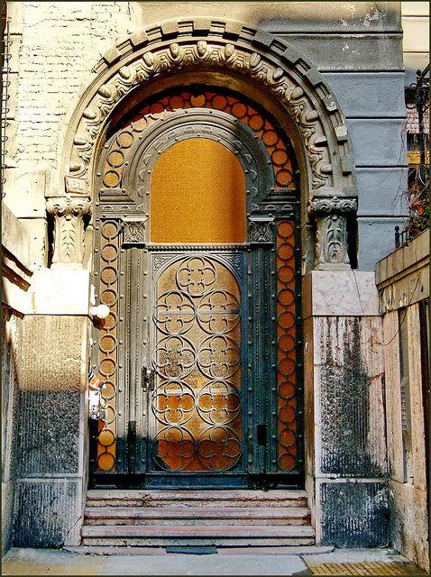Jellinek House    Art Nouveau building, Budapest, Terézváros. Built in 1913.