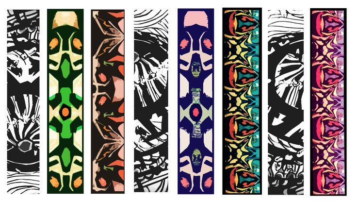 Série de motifs pour des sangles d'appareil photo www.moduscray.com