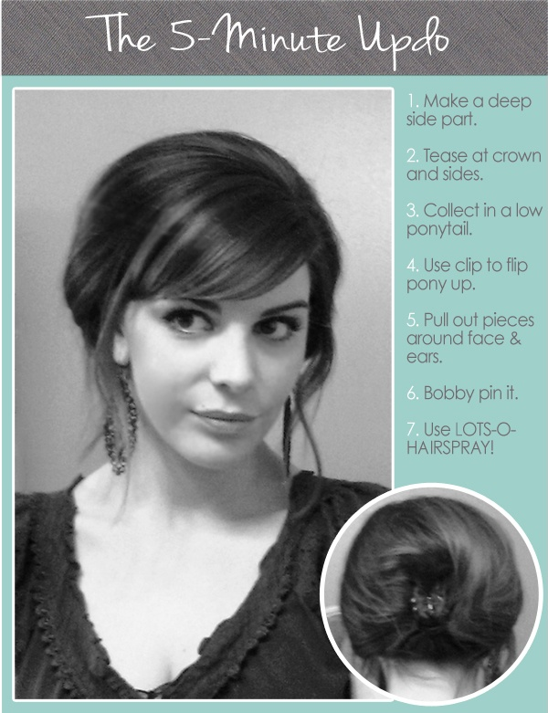 Confessions of a GDS Hair & Makeup Routine