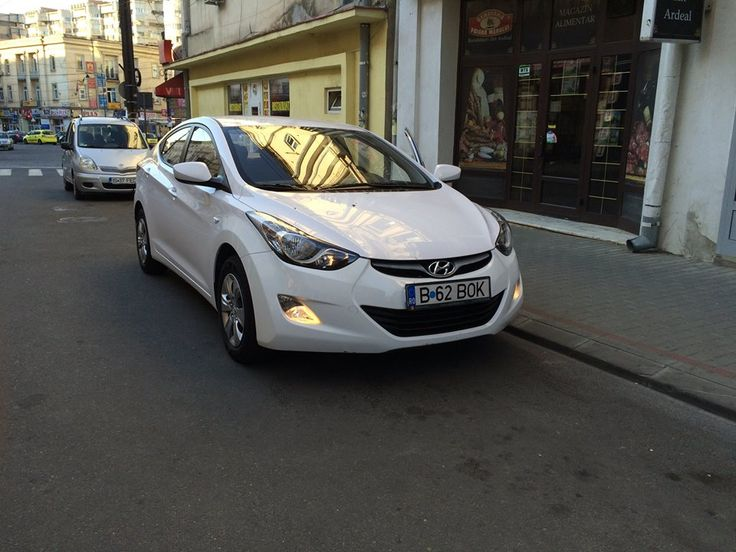 Rent a Hyundai Elantra in Targu Mures available @AutoBoca rent a car Romania!