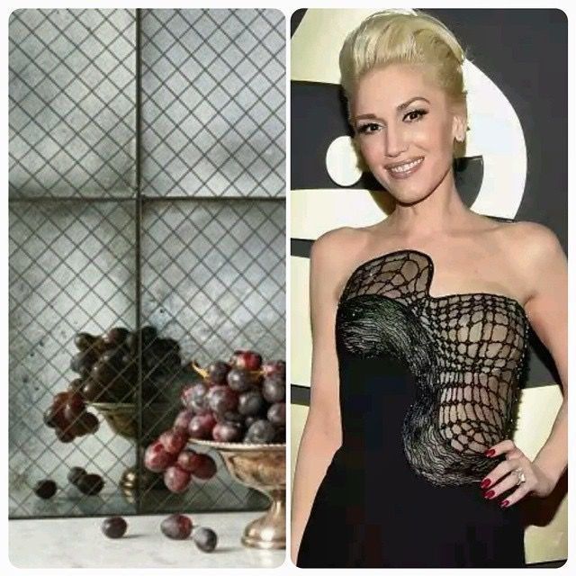 Gwen Stefani with Anne Sacks Versailles Tile