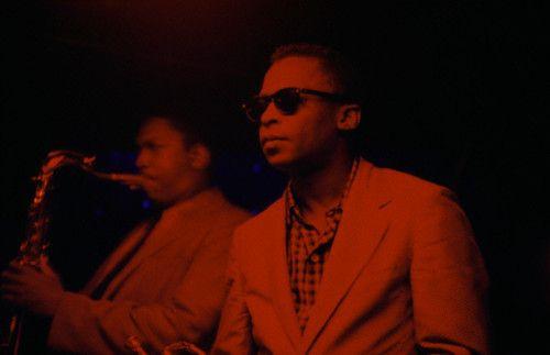 Miles Davis plays Cafe Bohemia, New York City, 1956.Music, Mo'N Davis, John Coltrane, Miles Davis, New York Cities, Hall Of Fame, Jazz Club, Club Cafes, Cafes Bohemia