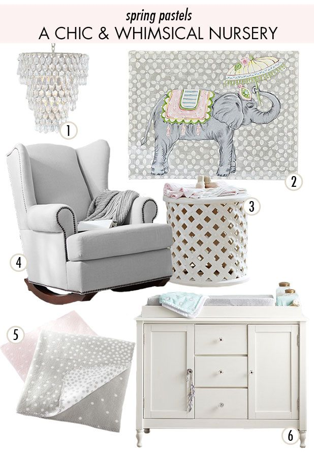 1000 Images About Girls Nursery Ideas On Pinterest