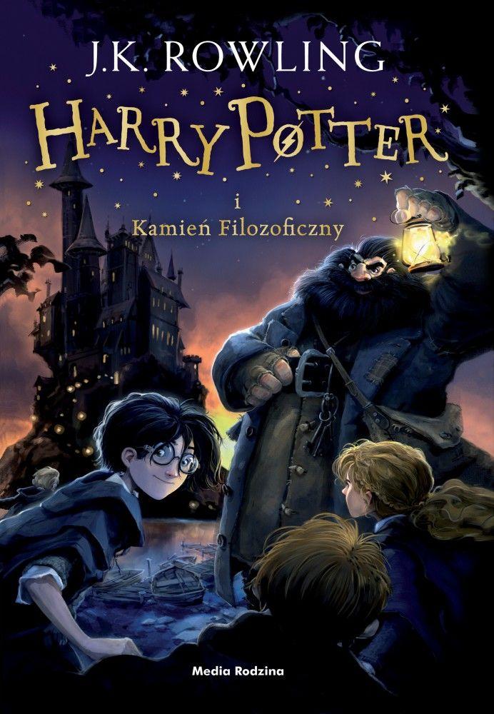 J K Rowling Harry Potter I Kamien Filozoficzny Philosopher S Stone Harry Potter Harry Potter Book Covers Rowling Harry Potter