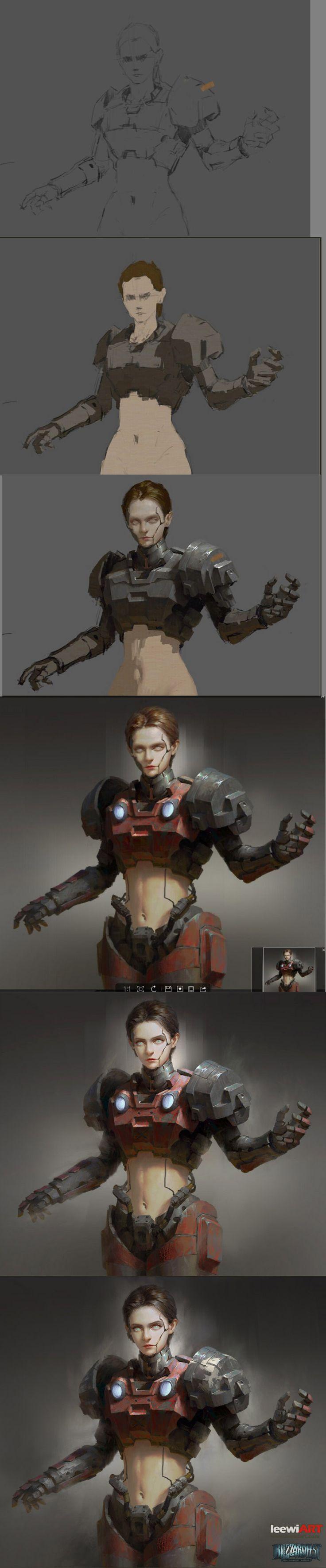 [xiaoyu huang][Marine.(Female soldier)] 活动 | leewiART 乐艺 建立你的个人艺术画廊,汇聚优秀的CG艺术作品