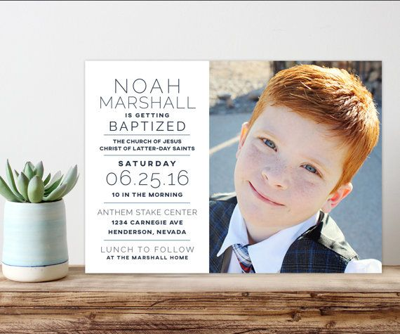 modern . simple . unique  5 simple steps to the perfect baptism card.  1. purchase this listing  2. leave me detailed information at checkout  [text .