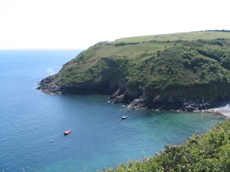 Cliff top walks at Aberdaron on the Llyn peninsula