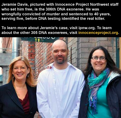 innocence project northwest The innocence project is a non-profit legal organization that is committed to  exonerating  evanston, il: northwestern university retrieved june 6, 2012.