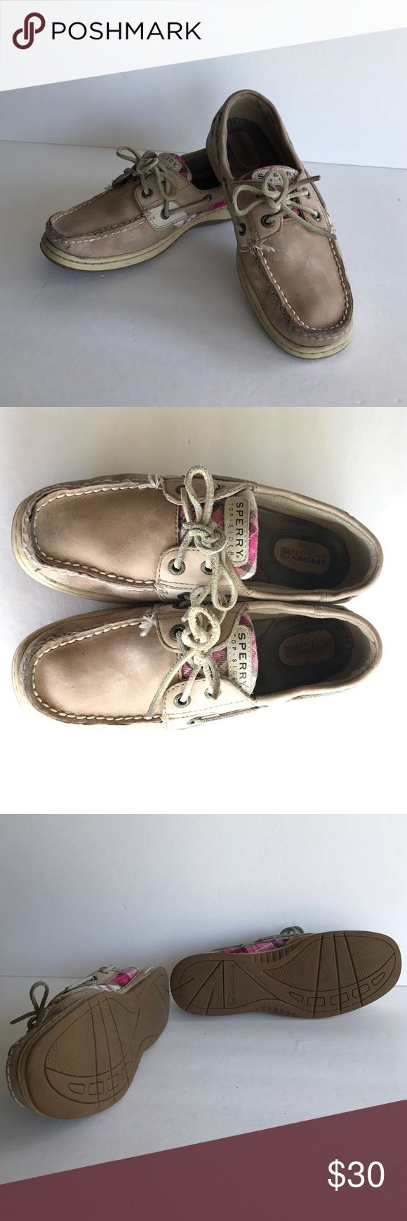 Women's Sperry Top Sider Boat Shoes Women's Sperry Top Sider Boat Shoes, Size 6 1/2, Genuine Leather, soles in great shape! Smoke free home Sperry Top-Sider Shoes Flats & Loafers