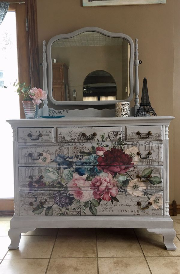 Dresser With Mirror Refurbished For Sale In Maplewood Mn