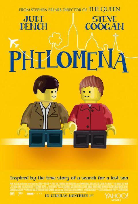 Philomena - Carteles de películas nominadas al Oscar 2014 recreados con LEGO