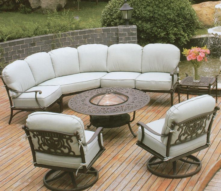 I Would Really Like To Have Cushy Outdoor Furniture, Including Swivel,  Rocking Ones.