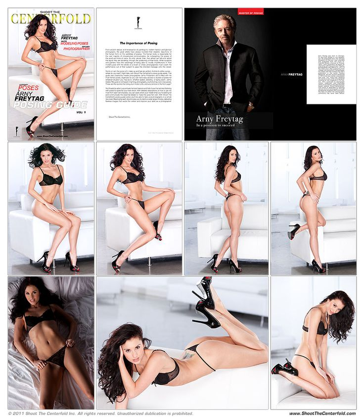 Arny Deluxe Posing Guide « Shoot The Centerfold®