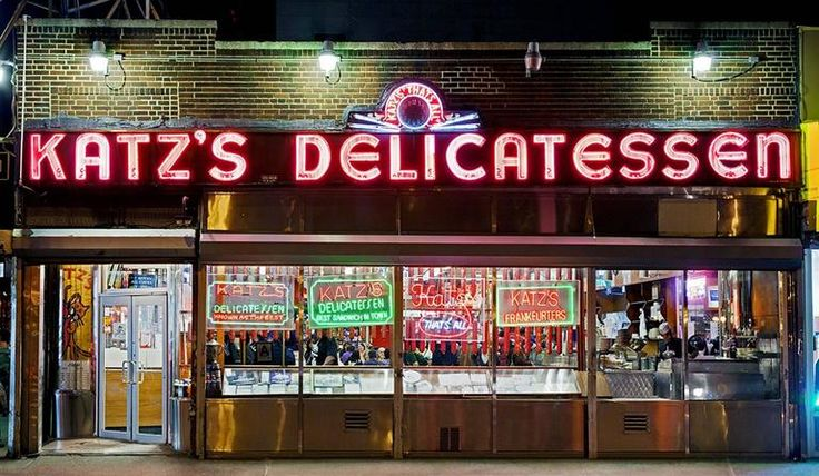 Katz's Delicatessen, New York's Lower East Side, 2010   From a unique collection of photography at https://www.1stdibs.com/art/photography/photography/