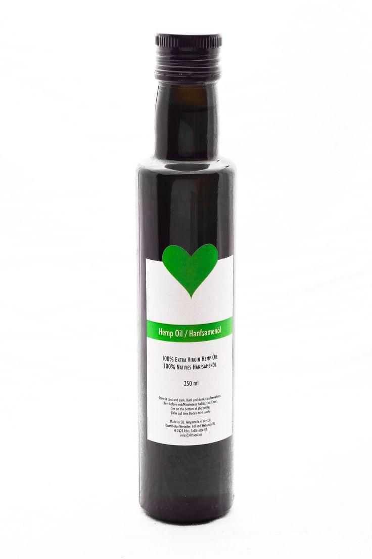 Our New Hemp Oil