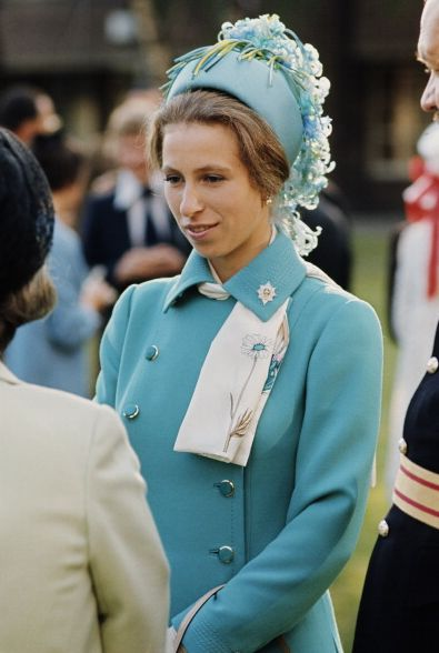 Princess Anne in a beautiful John Boyd hat. www.johnboydhats.co.uk