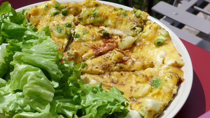 Omelette aux poireaux, sauge et cantal – Le Repaire des Ventres Faims