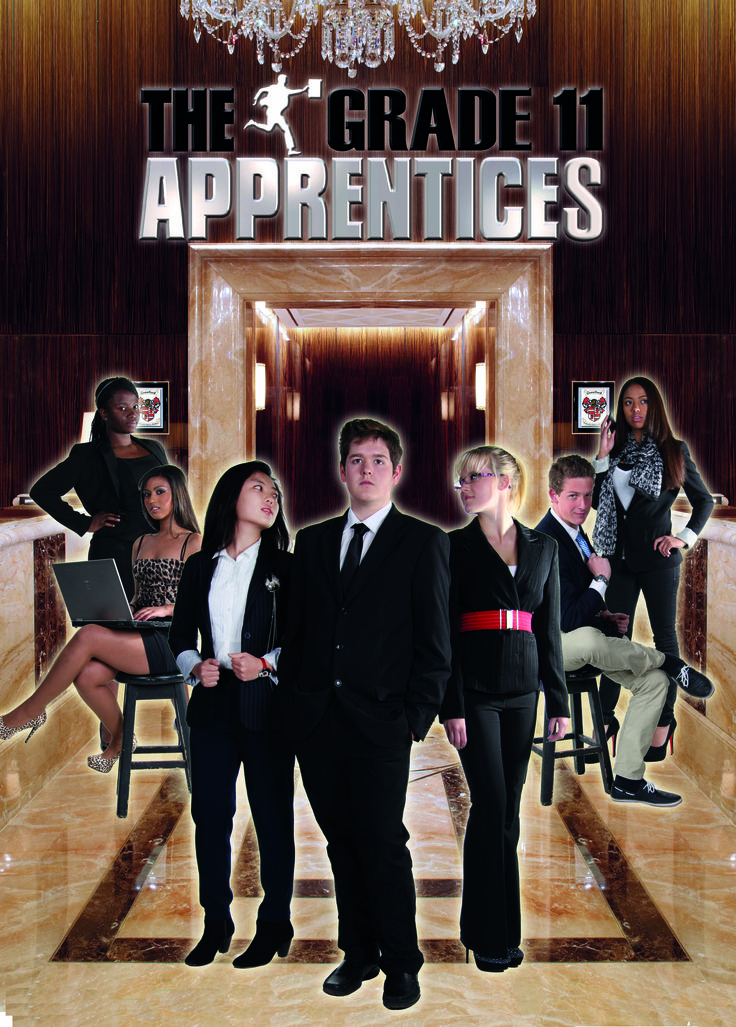 Grade 11 Leader Poster - Reality TV Theme