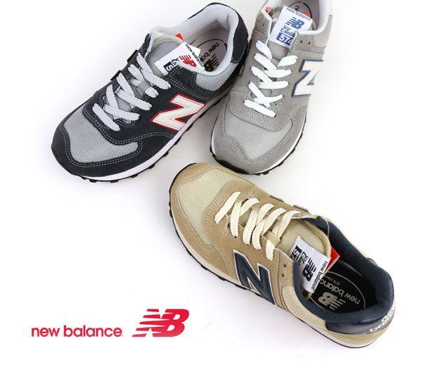 "new balance(ニューバランス) スエード メッシュ クラシック ランニング ランニングシューズ スニーカー ""ML574""・ML574  #newbalance"