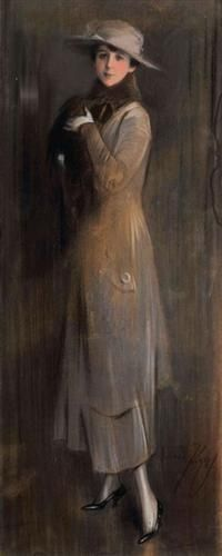 Lady with a long coat - Paul Mathiopoulos