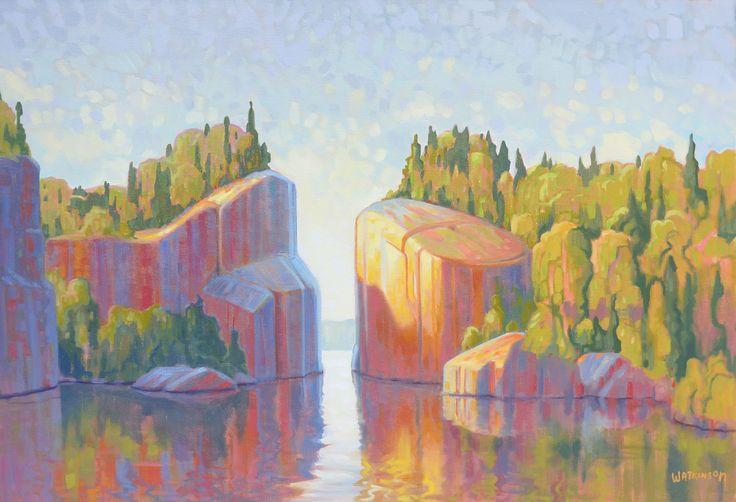 Terry Watkinson - Golden Gate 22 x 32 Oil on canvas (2015)